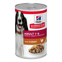 CANINE ADULT TURKEY 370G