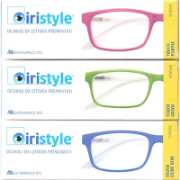IRISTYLE OCCH METAL RED +1,00