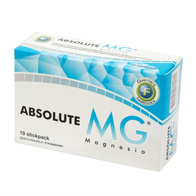 ABSOLUTE MG 10STICKPACK 2G