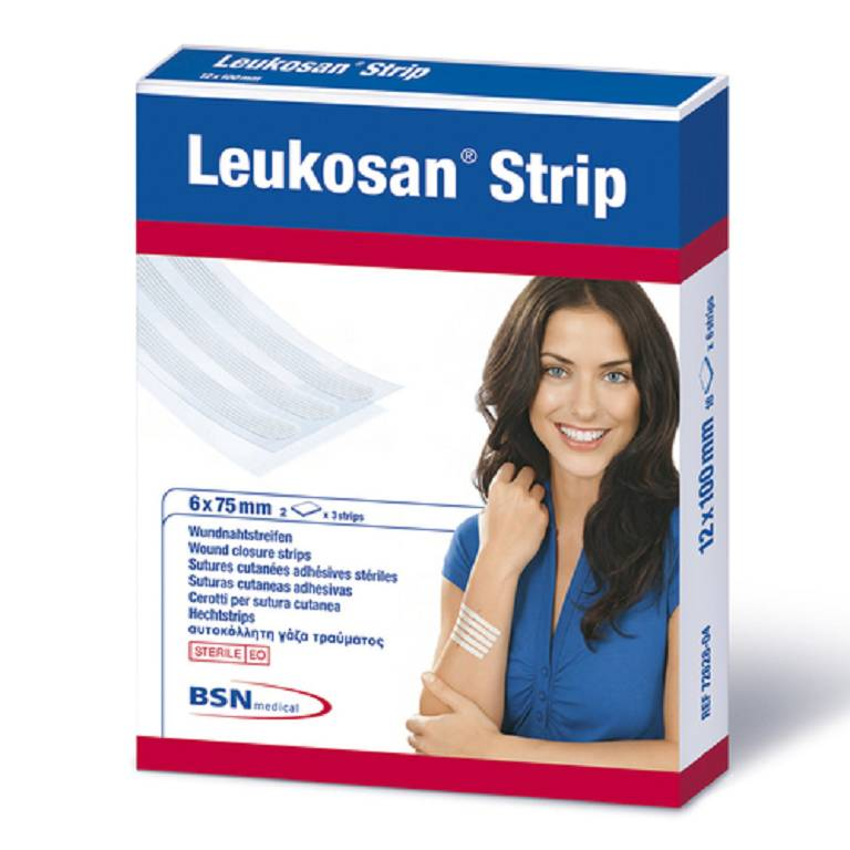 CER LEUKOSAN STRIP 6X75MM 2BX3